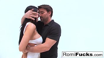 Gonzo sex with porn starlet Romi Rain & Euro star Toni Ribas