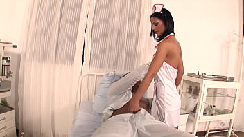 Black Angelika Is A Nurse Crazy For Anal