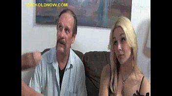 Sit down handjob - Black down my wifes throat