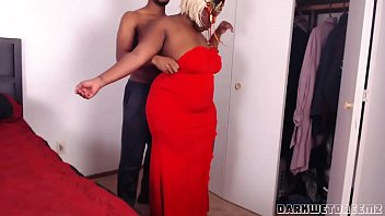 Big black booty gallery sex - Big booty stepmom needs help with her dress