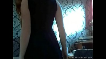Shy Redhead with Tight Pussy Fingers Herself on Cam - webcamseduction.com