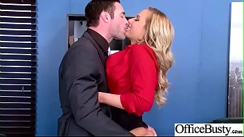 Hard Sex Tape In Office With Big Round Tits Sexy Girl (Olivia Austin) video-25