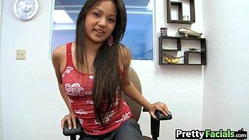 Hot asian fuck and facial  Lana Violet 1 2.1