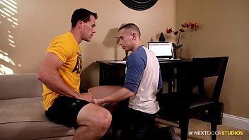NextDoorBuddies Cute Nerd Takes A Bareback Dick Study Break