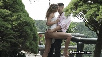 Eating girlfriends ass and getting sucked outdoors