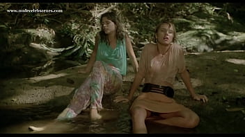 Top nude scenes in Massacre in Dinosaur Valley (1985) starring Suzane Carvalho, Susan Hahn, etc.