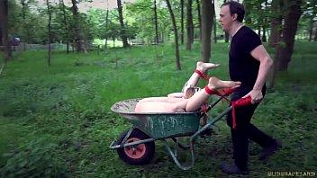 Free xhamster outdoor bondage video Outdoor dirty bondage humiliation for a broken teen slave