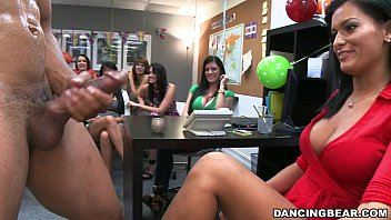 Stripper pens Male strippers at office birthday party