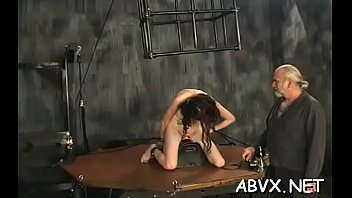 Daughter spank porn video Extreme servitude with hot mom and juvenile daughter