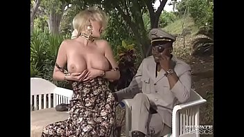 Classic erotic animation Busty sally gets a big black cock