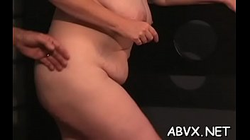 Large butt mature extreme moments of rough amateur bondage