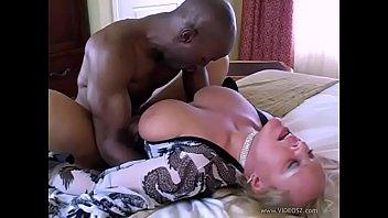 White blonde Milf fucks BBC