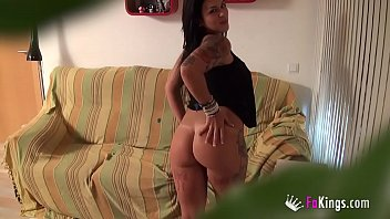 'I fuck a videogame addict, what do you think?' Big boobed Tania's first scene