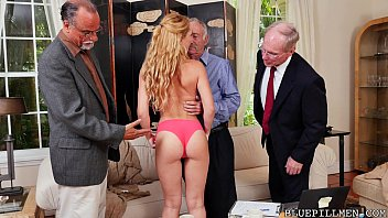 G magazine nude men Frankie and the gang tag team door-to-door saleswoman, raylin ann