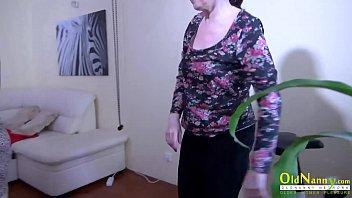 OldNannY Mature Lesbian Toys Masturbation Footage