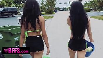 Bikini wash videos Big tit bikini car wash teen party