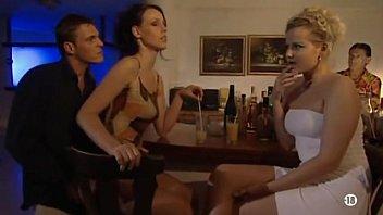 Bar sex stool Surprise anal in bar