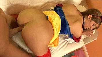 Cock block mens halloween costume - Snow white slut halloween