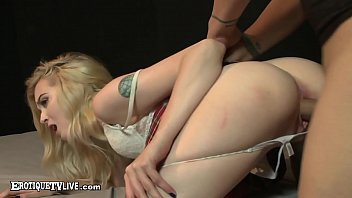 EROTIQUE TV - Metal Mouth Lexi Lore Cummed On By ERIC JOHN