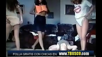 Fiesta del Pijama y Tangas de chicas españolas
