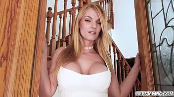 Rachael Cavalli is a sexy cougar with a secret crush on her neighbors son.She seduces him while her hubby is away and wastes no time sucking his cock.