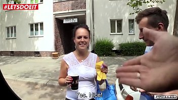 LETSDOEIT - Amateur German Milf Picked Up and Fucked In the Van