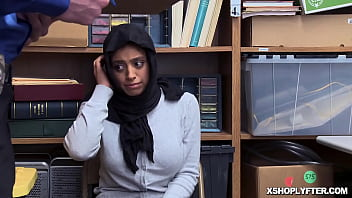 10 Out Of 10! Shoplyfter Muslim Ella Knox With Her Massive Tits And Hairy Pussy Is Damn Hot!