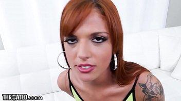 THROATED b. Redhead Face Fuck thumbnail
