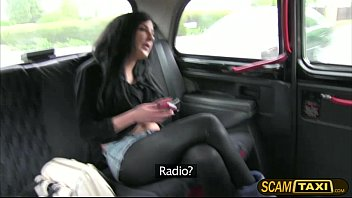 Chantelle gets pussy pounded in the backseat for a free cab fare