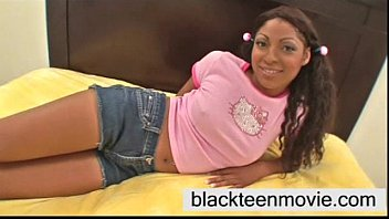 Black girls white chock sex videos Barely legal 18 yr old cute black teen babe taking white dick in teen video