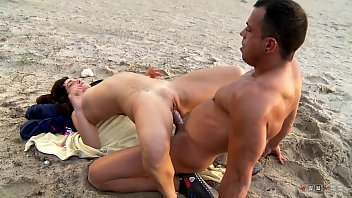 He Wants Her Tight And Wet Pussy Right Now Right Here, At The Public Beach