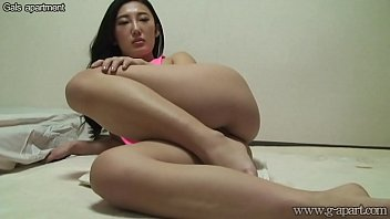 Japanese Downblouse Open Leg Wedgie Exercise