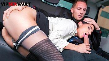 VIP SEX VAULT - #Jocelyne - Czech Brunette Blows And Fucks With Matt Ice On His Car