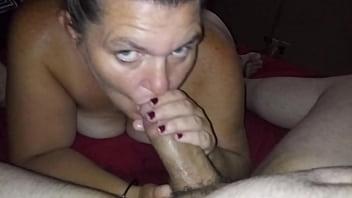 Slut sucking my cock