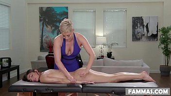 Open Minded Step Daughter Gets a Massage - Ryan Keely and Emily Willis
