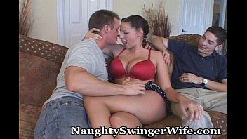 Busty Hotwife Swings With Aggressive Stud Vorschaubild