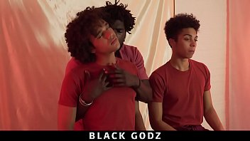 BlackGodz - Derek Cline Gets Barebacked By A Black God