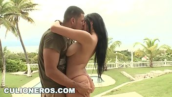 CULIONEROS - Poolside Sex With Colombian Babe Juliana
