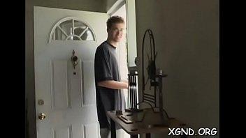 Blond next door tries anal