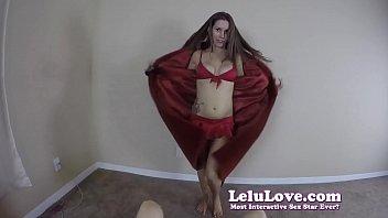 Slutty cheerleader POV lapdances sucks and rides YOUR creampie out