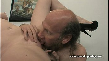 Oldman hairy dick - Young slut will do anything to keep the job