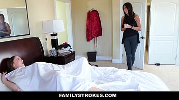 FamilyStrokes- Panty Sniffing Step-Dad Blackmailed By Hot Daughter Vorschaubild