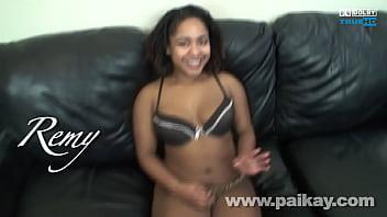 18 Year Year old Ebony Remy Fucking and Sucking Paikay