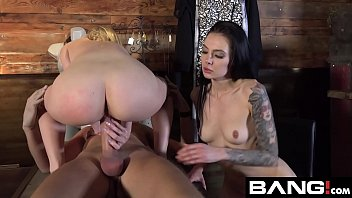 Voyeur sex confessions - Bang confessions: aubrey sinclair threesome fuck in dressing room