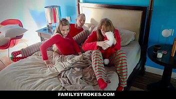 FamilyStrokes - Fucking My Stepdad On Christmas Morning (Niki Snow) thumbnail