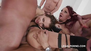 Anal Fisting Lyna Cypher & Victoria J Balls Deep Anal, DAP and Squirt To Mouth