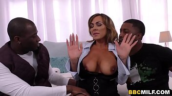 Busty MILF Aubrey Black Squirts On A Big Black Cock