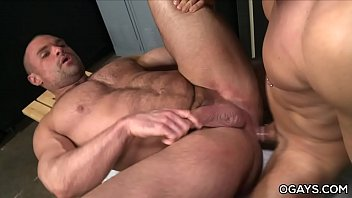 Rumored gay Huge cocked muscle guy loves anal