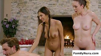 Erotic massage threesome