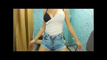 Young girl got topless dancing tease big boobs